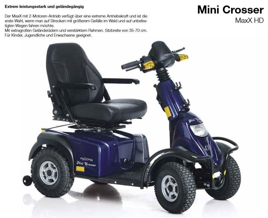 Mini Crosser Modellvielfalt - von hdm-Seniodrive